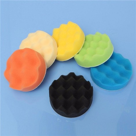 8pcs 5 inch Woolen Polishing/Buffing Pad Kit for Car Polisher