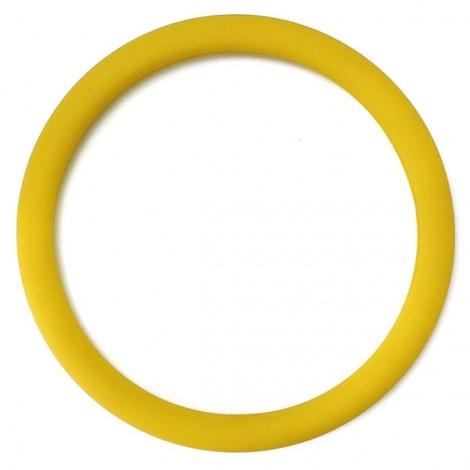 Soft Non-Slip Silicone Car Auto Steering Wheel Cover Grass Yellow