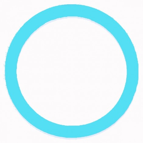 Soft Non-Slip Silicone Car Auto Steering Wheel Cover Luminous Blue