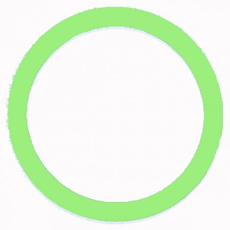Soft Non-Slip Silicone Car Auto Steering Wheel Cover Luminous Green