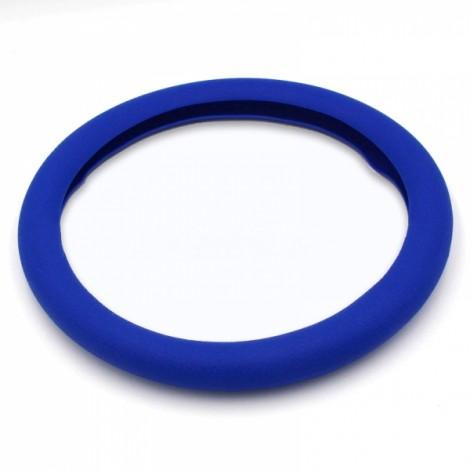 Soft Non-Slip Silicone Car Auto Steering Wheel Cover Dark Blue