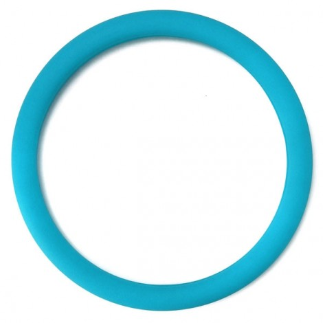 Soft Non-Slip Silicone Car Auto Steering Wheel Cover Sky Blue