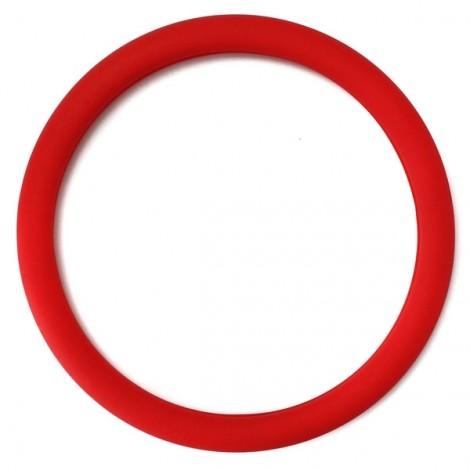 Soft Non-Slip Silicone Car Auto Steering Wheel Cover Red