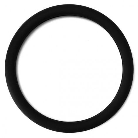 Soft Non-Slip Silicone Car Auto Steering Wheel Cover Black