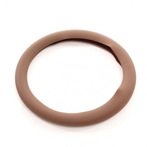 Soft Non-Slip Silicone Car Auto Steering Wheel Cover Chocolate