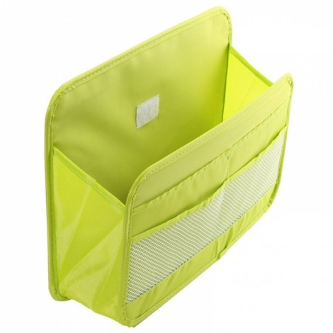 Car Multifunction Travel Back Seat Storage Bag Pocket Hanger Holder Organizer Green