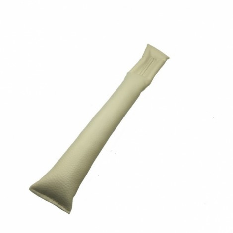Car Leather Fillers Holster Auto Seat Pad Gap Spacer Filler Padding Gray
