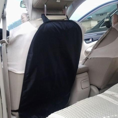 Car Auto Care Seat Back Protector Case Cover for Children Kick Black