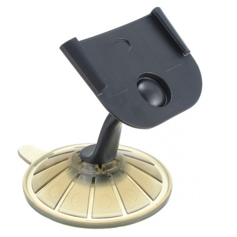 3.5 Inch Deck Car Windscreen Mount Holder Suction Cup for TomTom One GPS Black & Tawney