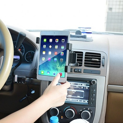 "Universal Car Air Vent Mount Tablet Holder Stand for 7""-10"" Tablet GPS iPad 2/3/4 Air iPad Mini Samsung Tablet"