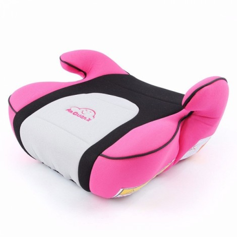 Portable Car Seat Safety Cushion Mat for 3-12 Years Old Baby Child Pink