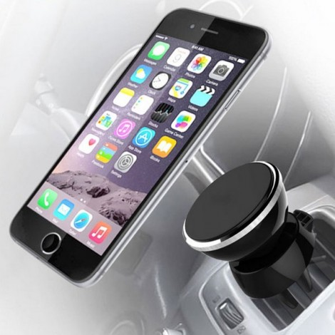 Classic 360 Degree Nanometer Car Air Vent Mount Phone Holder Black
