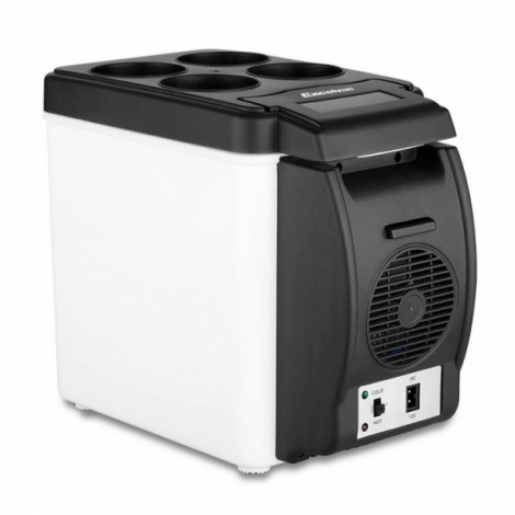 6L 12V Portable Mini Car Fridge Electric Cool Box Cooler and Warmer