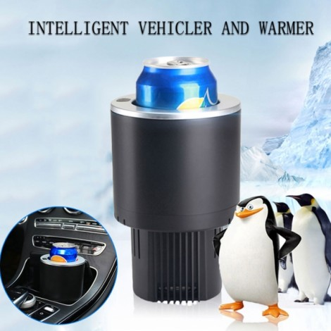 Vehicle Hot and Cold Cup Holder Black