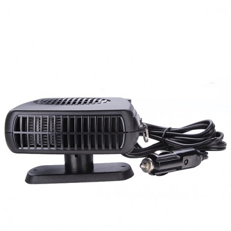 12V 2 in 1 Auto Car Dryer Heater Cooler Fan Demister Defroster with Cigar Lighter Plug