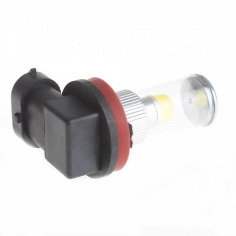 HJ H11 8W 700LM 6000-6500K 1 x 3D LED White Light Bulb for Car Fog Light (12-24V)