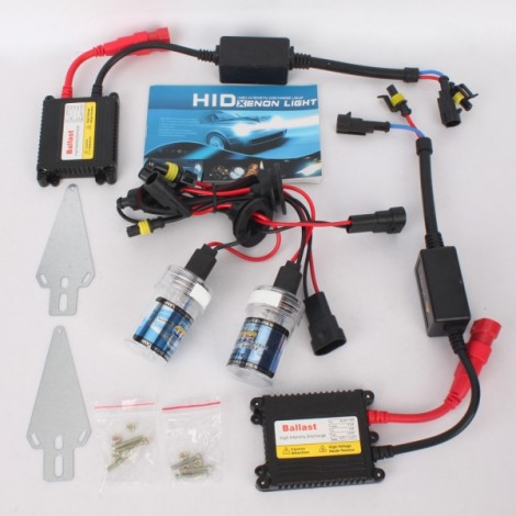 9005=HB3 55W 10000K Car HID Xenon Lamps + Ultra-thin HID Ballast Set