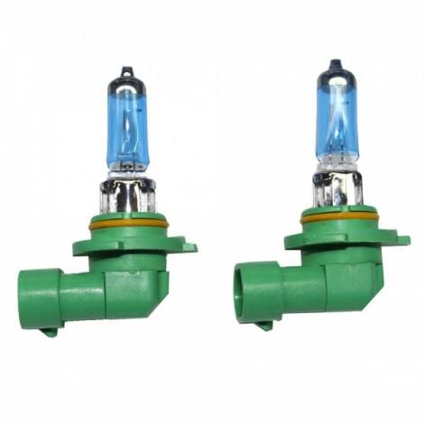 2pcs PEGASUS HB3/9005 12V 100W 2100LM 6000K White Automobile Headlights Blue & Green & Yellow