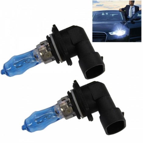 2pcs HOD HB4/9006 100W 2000LM 6000K White Light LED Car Halogen Headlights (12V)