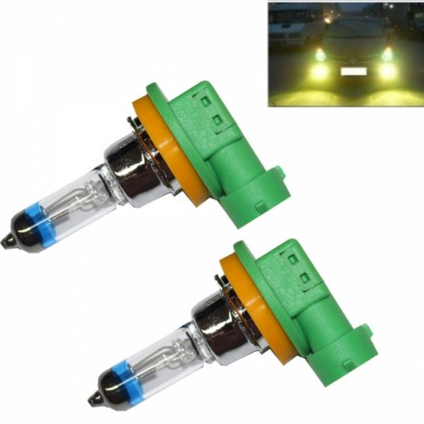 2pcs PEGASUS H11 55W 2000LM 4300K Warm White Automobile Headlights (12V)