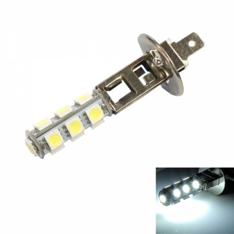 H1 6W 13 x 5050LED 110LM 6000K White Light Car Fog Light