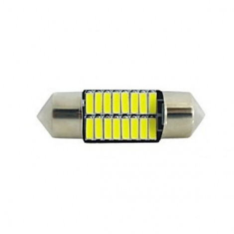 1pcs Upgrade Canbus SMD LED Car Interior Light Festoon Bulb Auto Reading Lamp T10 Trunk Lamp 31mm Ice Blue Light