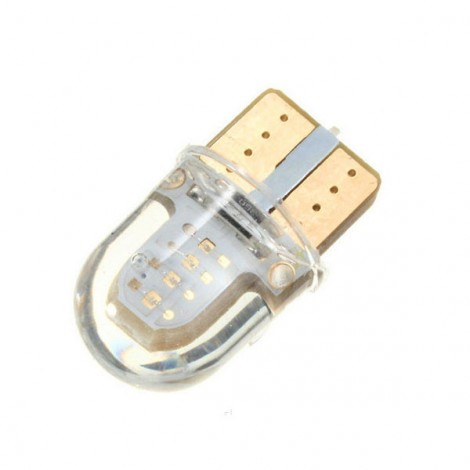 T10 W5W 8-COB SMD Silica Car LED Door License Light Bulb Red Light