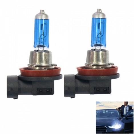 H11 12V 55W 5500K 1900LM Automotive Halogen Headlamps / Headlamps White Light
