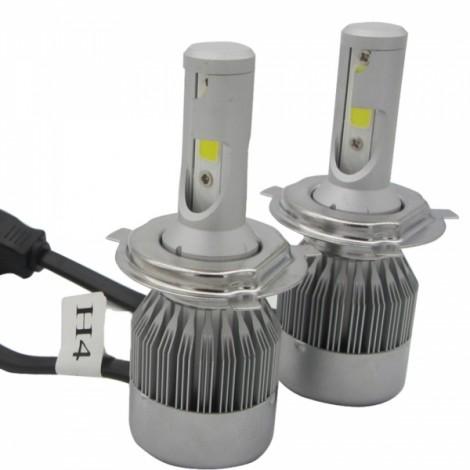 2pcs TXVSO8 110W White 6000K 9200LM COB Car LED Headlamps H4