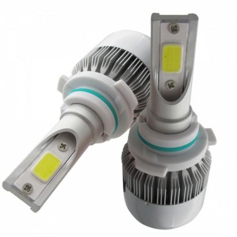 2pcs TXVSO8 110W White 6000K 9200LM COB Car LED Headlamps 9005 HB3