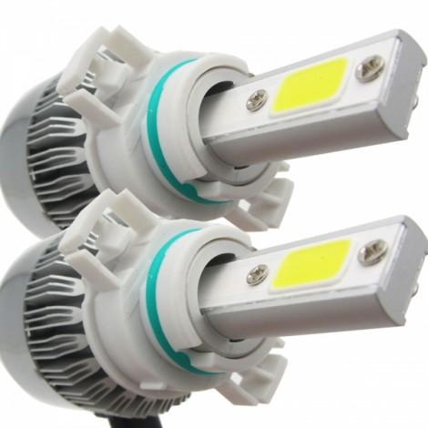 2pcs TXVSO8 110W White 6000K 9200LM COB Car LED Headlamps 5202 H16