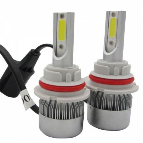 2pcs TXVSO8 110W White 6000K 9200LM COB Car LED Headlamps 9004