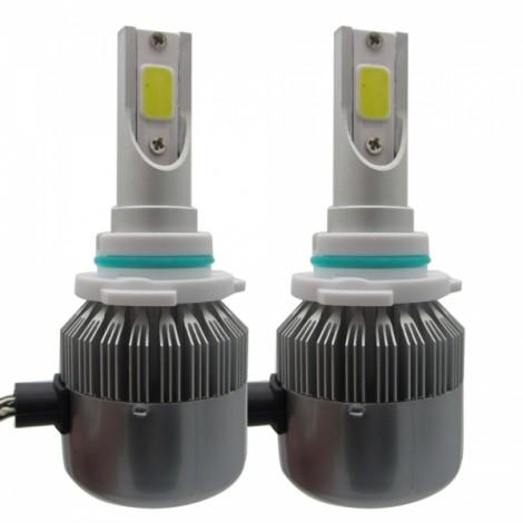 2pcs TXVSO8 110W White 6000K 9200LM COB Car LED Headlamps 9006 HB4