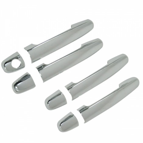 4pcs 1-Hole 03-11 Corolla/02-06 Camry/01-07 Highlander/02-11 Matrix/01-11 Rav4/07-11 Yaris/06-09 Prius/05-10 Door Handle