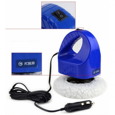 YD-8302 Portable Car Cleaning Waxing Polisher Machine Blue