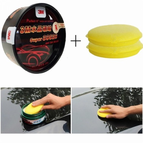 Super 39526 Premium Clear Coat Scratch Repair Paint Care Crystal Hard Car Wax Polish