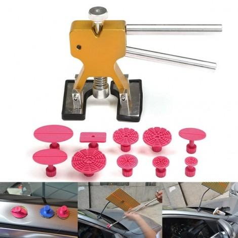11pcs PDR Car Dent Lifter Puller Pulling Tabs Paintless Hail Repair Tool