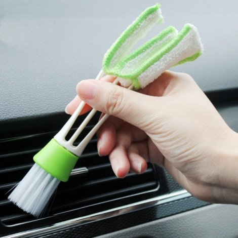 5pcs Air Conditioner Vent Dirt Duster Brushes Computer Keyboard Microfibre Cleaning Brushes