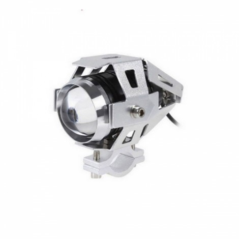 Ultrafire 30W U5 Transformers Car Motorcycle Headlight External Laser Cannon Silver