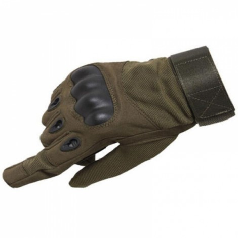 Tactical Military Outdoor Motorcycle Bicycle Airsoft Shooting Hunting Full Finger Gloves Army Green M