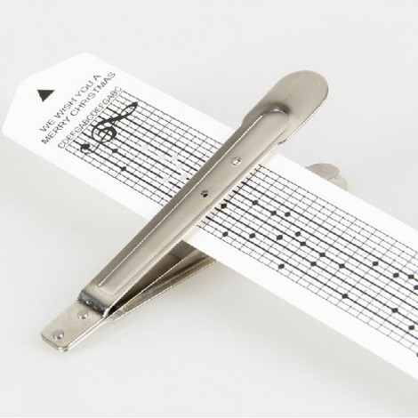 30-Note Hand Crank Music Box Mechanism Metal Movement Set with Hole Puncher & Blank Paper Tapes