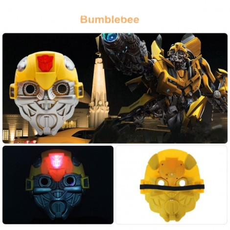 Halloween Costumes LED Light Bumblebee Mask