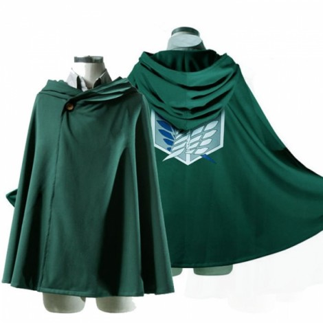 Cosplay Attack on Titan Anime Survey Legion Cloak Cape Size 185cm