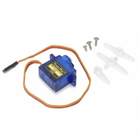 Tower Pro SG90 9G Spare Part Servo for RC Helicopter Blue
