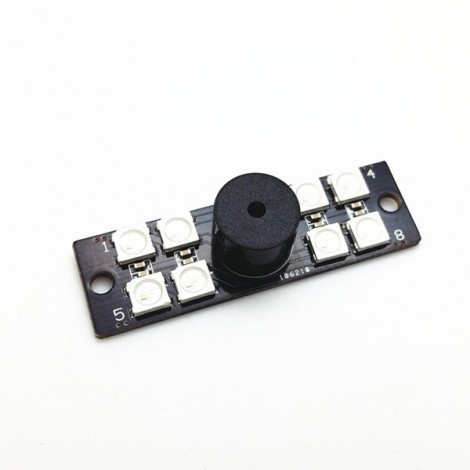 Lantian 2 in 1 WS2812B LED and 5V Active Buzzer for FPV NAZE32 Skyline32 Flight Controller