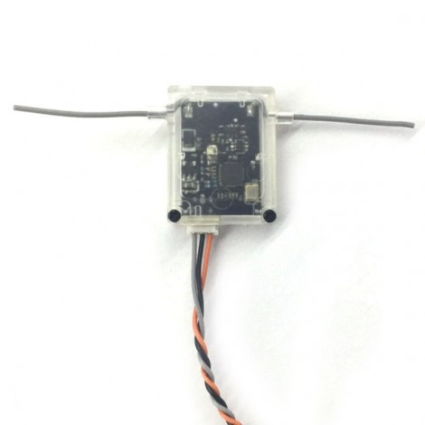 2.4G 12CH Receiver with Case Support SBUS Compatible with FUTABA FASST for RC Multirotor