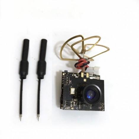 Boldclash F-08 DVR AIO 5.8G 80CH 25mW 1/4 Cmos FPV Camera & Transmitter jst1.25 Male with 2 Brass Antenna 6g