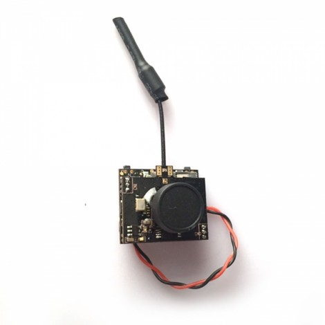 Boldclash F-08 DVR AIO 5.8G 80CH 25mW 1/4 Cmos FPV Camera & Transmitter jst1.25 Male with 2 Brass Antenna 5.44g