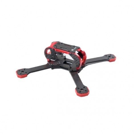 TransTEC Fatty 218 218mm 4mm Arm 3K Carbon Fiber FPV Racing Frame Red