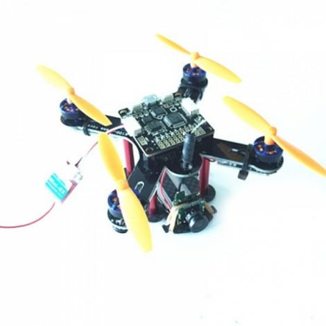 ZMR K100 FPV Racing RC Drone with F3 Flight Control 25mW Camera Brushless Motor DSM Receiver BNF